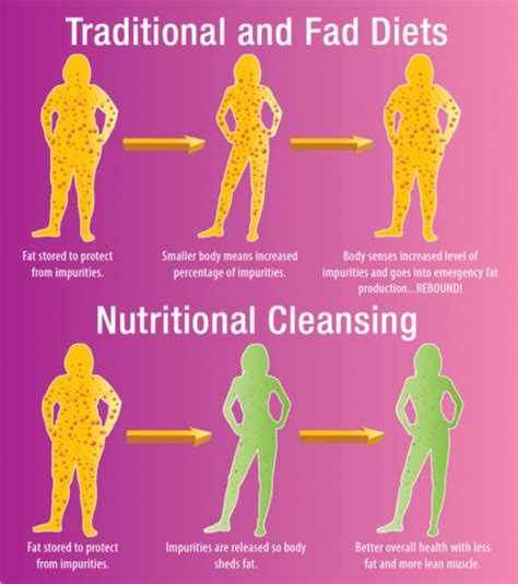 Is It To Detox Before Dieting by Diet Vs Cleansing Encognitive
