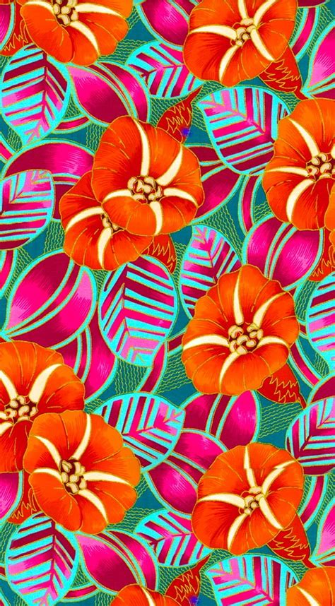 hawaiian pattern iphone wallpaper tropical patterns wallpaper www imgkid com the image