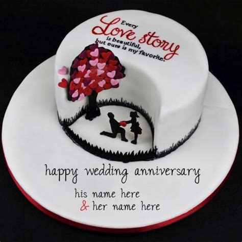 Wedding Anniversary Quotes On Cakes by Wedding Anniversary Wishes Cake Images With Name