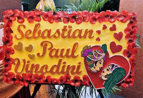 Wedding Name Board by Diy Indian Wedding Decorations Handy Craft Creations