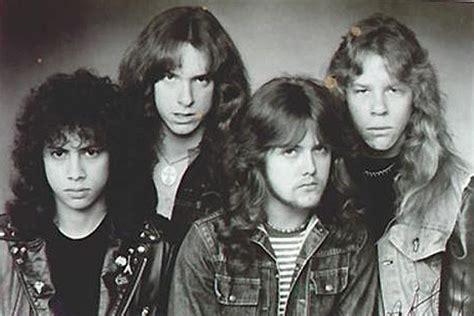 Kaos Exodus Band Metal Ex 04 34 years ago kirk hammett invited to for metallica