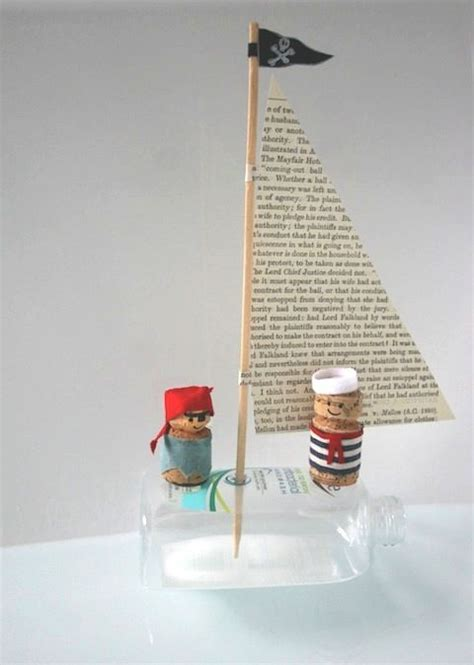Papercraft Materials - corks and sailors on
