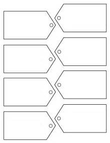 Free Printable Tags Templates by Traditional Tag Template On Right Here