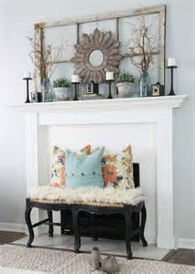 room mantle 30 pretty rustic living room ideas noted list