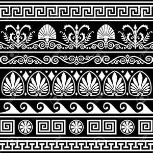 23 greek ornament mosaic patterns patterns design