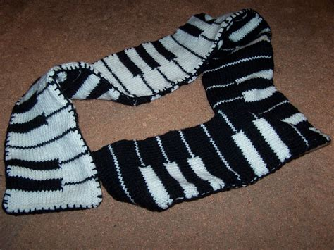 knitting pattern piano scarf piano scarf 183 a novelty scarf 183 yarncraft on cut out keep