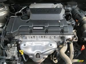 Kia 2 0 L Engine 2007 Kia Spectra Ex Sedan 2 0 Liter Dohc 16v Vvt 4