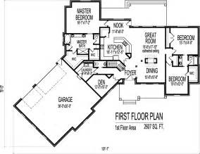 House Plans With Angled Garage by One Level House Plans With Angled Garage One Level House