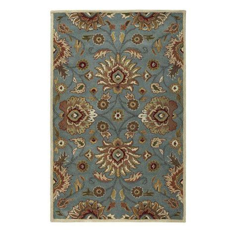 echelon area rug nuloom floral magen blue 9 ft x 12 ft area rug rzin01a 9012 the home depot