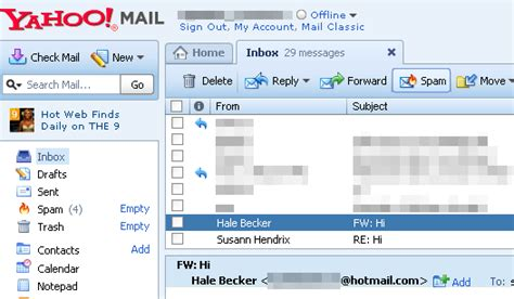 yahoo email upgrade spam major security update for yahoo mail