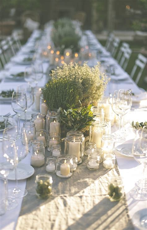 The Perfect Romantic Italian Garden Dinner Party.   ROCK