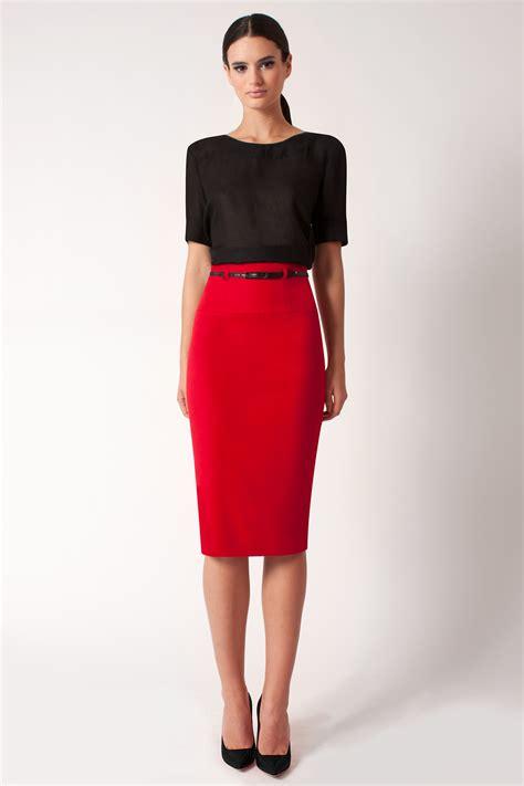 Maxi Pencil Skirt Exclusive black halo high waist pencil skirt exclusive in