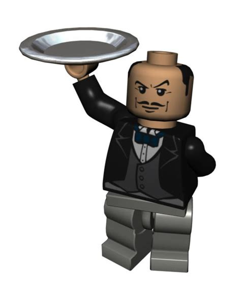 Lego Alfred The Buttler ralph fiennes cast as butler alfred in the lego batman