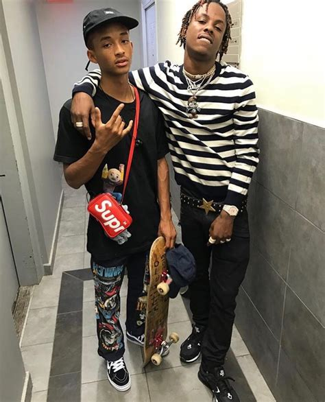 Smith High And On by Spotted Jaden Smith And Rich The Kid In Supreme X Louis