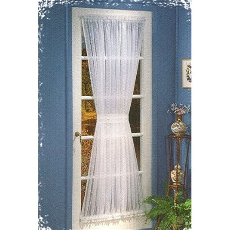 Door Drapery Panels the sugar bluff house inspiration door curtain panel w tieback