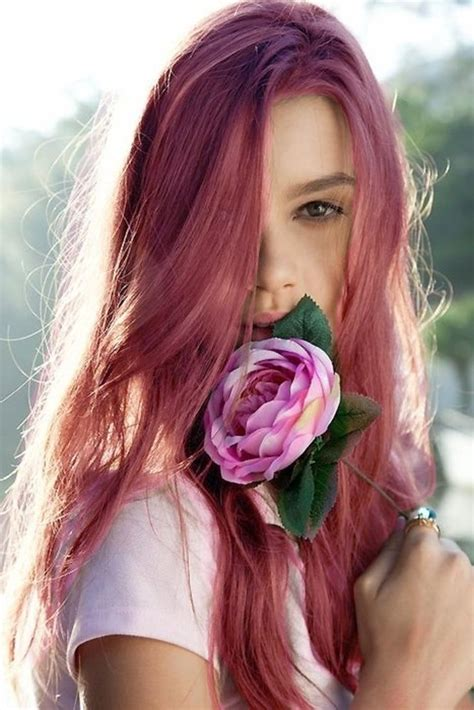 hairstyles color pink bold but wearable hair colors to try this year glam radar