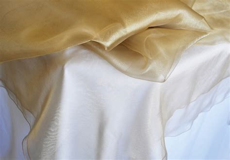 Square Organza Gold antique gold 54 quot organza table overlays table toppers