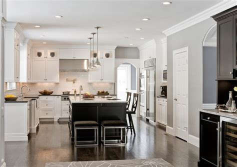Decorations On Top Of Kitchen Cabinets how to use dark floors to brighten your dull home
