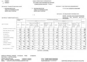 Sample Eeo 1 Report Table 5 White Male Attorneys And Women Attorneyssample