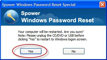 windows password reset special spower windows password reset guide add or delete