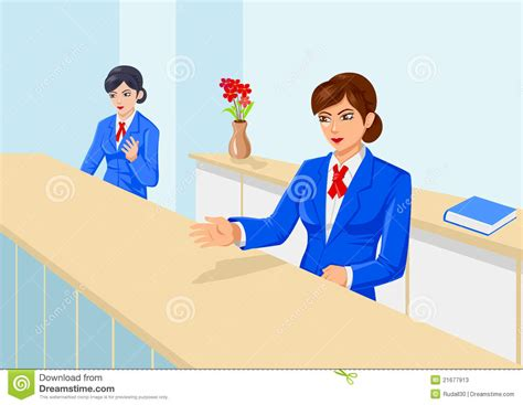 Front Office Stock Photos Image 21677913 Front Desk Officer