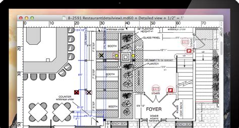 Home Plan Design Mac | macdraft professional 2d cad for mac microspot ltd