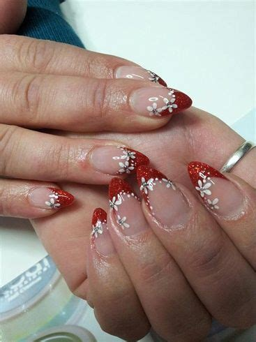 nails art design magazine video deep red french nail art gallery by nails magazine