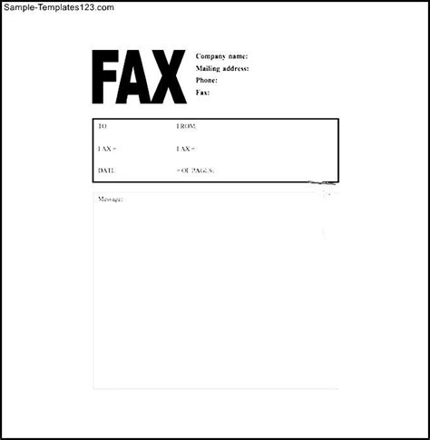 word fax cover sheet business fax cover sheets sle fax
