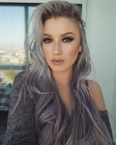 17 best ideas about gray hair colors on silver