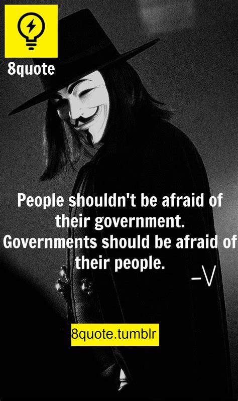 V For Vendetta Quotes Tumblr