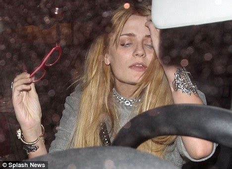 Barton In Rehab by Mischa Barton Appears A Worse For Wear Struggling