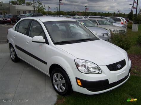 Kia 2008 Lx 2008 White Kia Lx Sedan 1621985 Gtcarlot Car