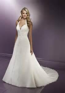 wedding dress halter halter top wedding dresses sangmaestro