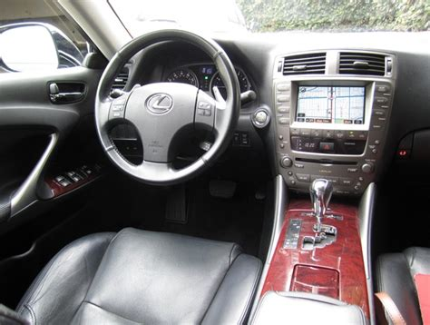 2007 lexus is 250 with x package and manual trans 2007 lexus is 250 interior pictures cargurus
