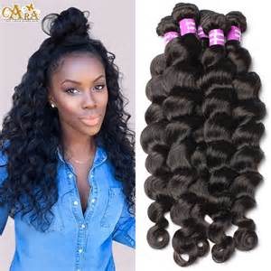 bohemian hair weave for black curly wave long hairstyles