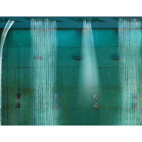 doccia cromoterapia bossini soffione doccia moderno a quattro funzioni e