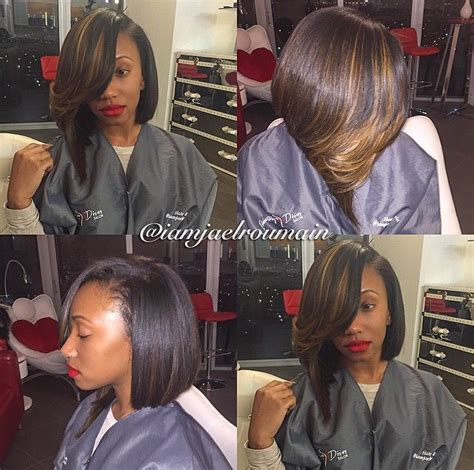 asymmetrical bob sew in 1000 ideas about bob sew in on pinterest sew ins quick