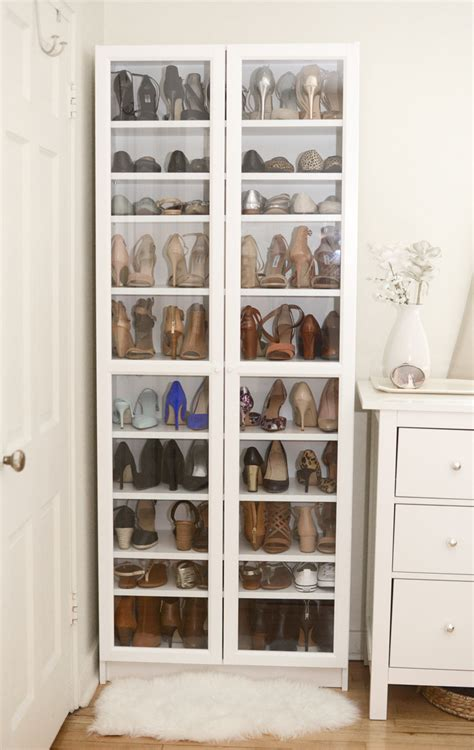 billy bookcase shoe storage 40 creative ways to organize your shoes