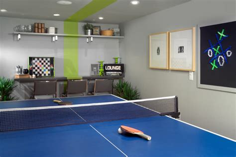 Room Needed For Ping Pong Table by Cool Hangouts And Lounges Home Style