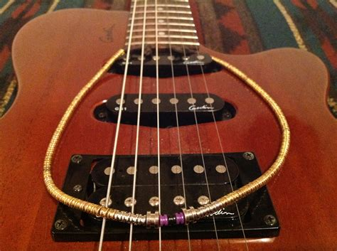 upcycled guitar upcycled guitar string necklace 18in choker