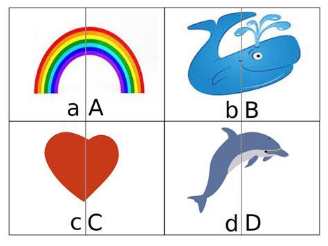 quattro lettere d impariamo le lettere con l alfabeto puzzle