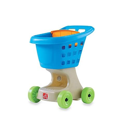 Baby Bath Helpers buy step2 174 helper s shopping cart in blue from bed