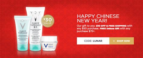 new year free delivery vichy canada new year sale save 10 free