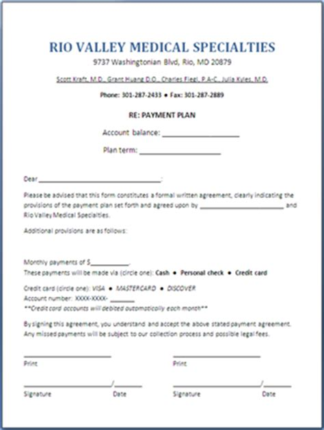 Patient Payment Agreement Letter Part B News Free Tool Sle Agreement Form For Patient Payment