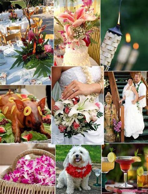luau themed bridal shower paperblog