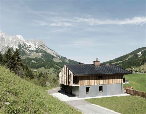 alpine chalet a combination of modern and traditional