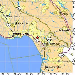 aptos california map aptos larkin valley california ca population