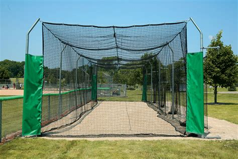 how to build a backyard batting cage outdoor batting cage modular system