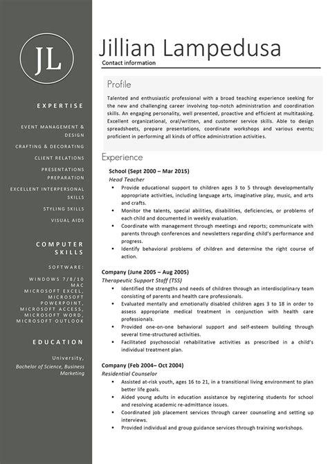 sample resume format for teaching profession beautiful sample