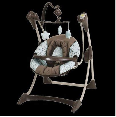 brown baby swing reviews graco silhouette swing kinsey the cheapest